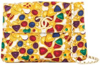 Chanel Pre-Owned 1986-1988 Bijou Print Chain shoulder bag