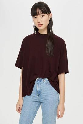 Topshop High Neck T-Shirt