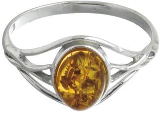 Nature D'ambre Nature d 'Ambre 3111158Women's Ring Silver 925/1000Amber