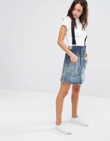 G Star G-Star Dadin Tailored Suspenders A-Line Skirt