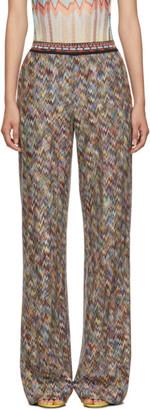 Missoni Multicolor Zigzag Lounge Pants