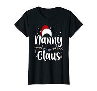 Nanny Claus Santa Christmas Family Matching Pajama T-Shirt