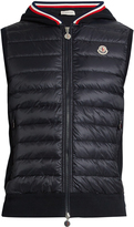 Moncler Maglia knit-back quilted down gilet