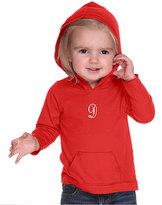 Princess Linens Red Initial Hoodie - Infant, Toddler & Girls