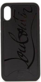 Christian Louboutin Loubiphone Sneakers Iphone X & Xs Phone Case - Black
