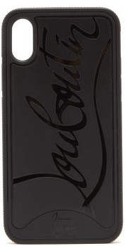 Christian Louboutin Loubiphone Sneakers Iphone X & Xs Phone Case - Mens - Black
