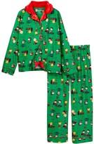 Komar Peanuts Holiday Pajama Set (Little Girls & Big Girls)