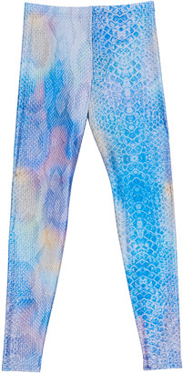 Terez Girl's Printed Leggings, Size 7-16