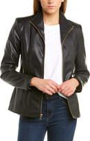 Cole Haan Wing Collar Jacket
