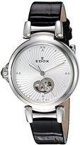 Edox Women's 85025 3C AIN LaPassion Analog Display Swiss Automatic Black Watch