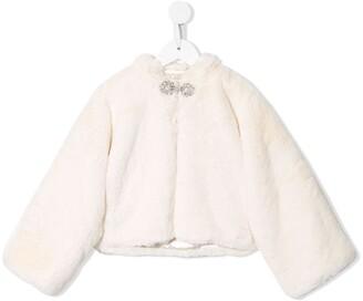 Tutu Du Monde Seraphina faux-fur jacket