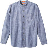 Joe Fresh Men's Chambray Shirt, Blue (Size L)