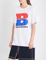 Justin Bieber Team Bieber cotton-jersey T-shirt