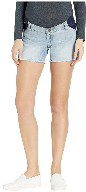 58b651b25f DL1961 Maternity Shorts - ShopStyle