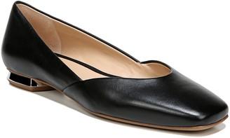 Franco Sarto Leather Square Toe Flats - Anders
