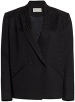 Mason by Michelle Mason Oversized Double-Breasted Blazer