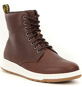 Dr. Martens Men's Rigal 8 Eye Lace Up Boots