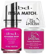 "IBD Advanced Wear - ""It's A Match"" Duo - Frozen Strawberry - 14ml / 0.5oz Each"