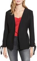 Hinge Women's Tie Sleeve Blazer