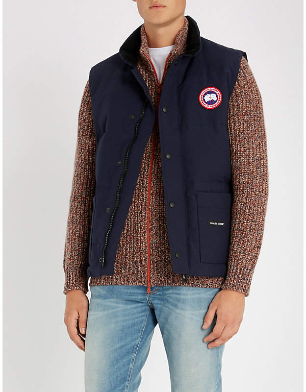 Canada Goose Freestyle Crew padded shell-down gilet
