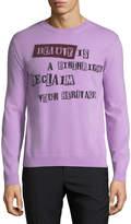 Valentino Beauty is a Birthright Intarsia Sweater