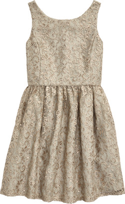 Ralph Lauren Metallic Lace Dress