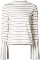 Le Ciel Bleu striped jumper