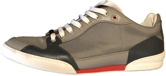 Christian Dior Grey Cloth Trainers