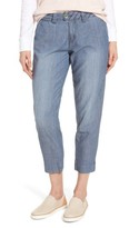 Jag Jeans Women's Creston Crop Chambray Pants