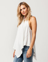 Free People Twin Peaks Womens Tank