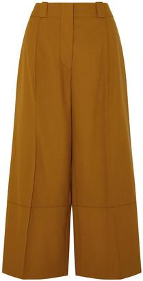 Marni Cropped Wool Wide-leg Pants