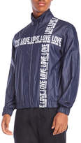 Love Moschino Graphic Mock Neck Jacket