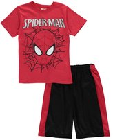 "Spiderman Big Boys' ""Masked Web"" 2-Piece Outfit"