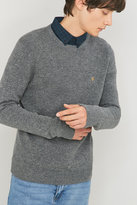 Farah Rosecroft Gravel Crewneck Jumper
