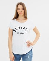 DECJUBA Carter Sequin Text Tee