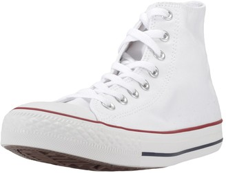 Converse Unisex-Adult Chuck Taylor All Star Hi-Top Trainers White (Optical White)- 10.5 UK