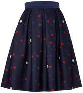 Marella Tanica polka dot flare skirt