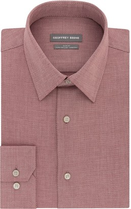 Geoffrey Beene Men's Slim-Fit Stretch Flex Point-Collar Dress Shirt