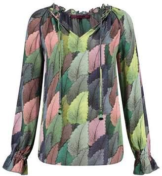 Pom POM - Dreamy Leaves Blouse - Green / S