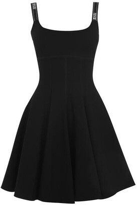 Versace Jeans Couture Taping Skater Dress