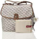 Babymel BM6723 Satchel Diaper Bag, Wave Fawn, One