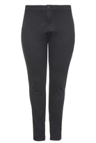 Quiz Curve Black Stretch High Waist Jeans