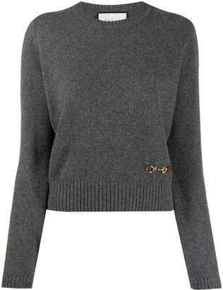 Gucci Horsebit crew neck jumper
