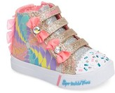 Skechers Toddler Girl's Sprinkle Toes - Skipper Sneaker