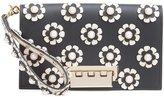 Zac Posen Earthette Embellished Wristlet Clutch - women - Calf Leather - One Size