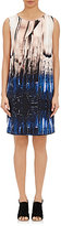 Zero Maria Cornejo WOMEN'S SATIN-BACK CREPE IRINA DRESS-NAVY SIZE 4
