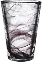 Kosta Boda Mine Vase - Black