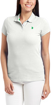 U.S. Polo Assn. Optic White & Sea Grass Polo