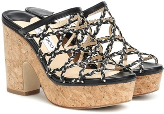 Jimmy Choo Dalina 100 plateau sandals