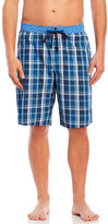 English Laundry Plaid Poplin Jam Shorts